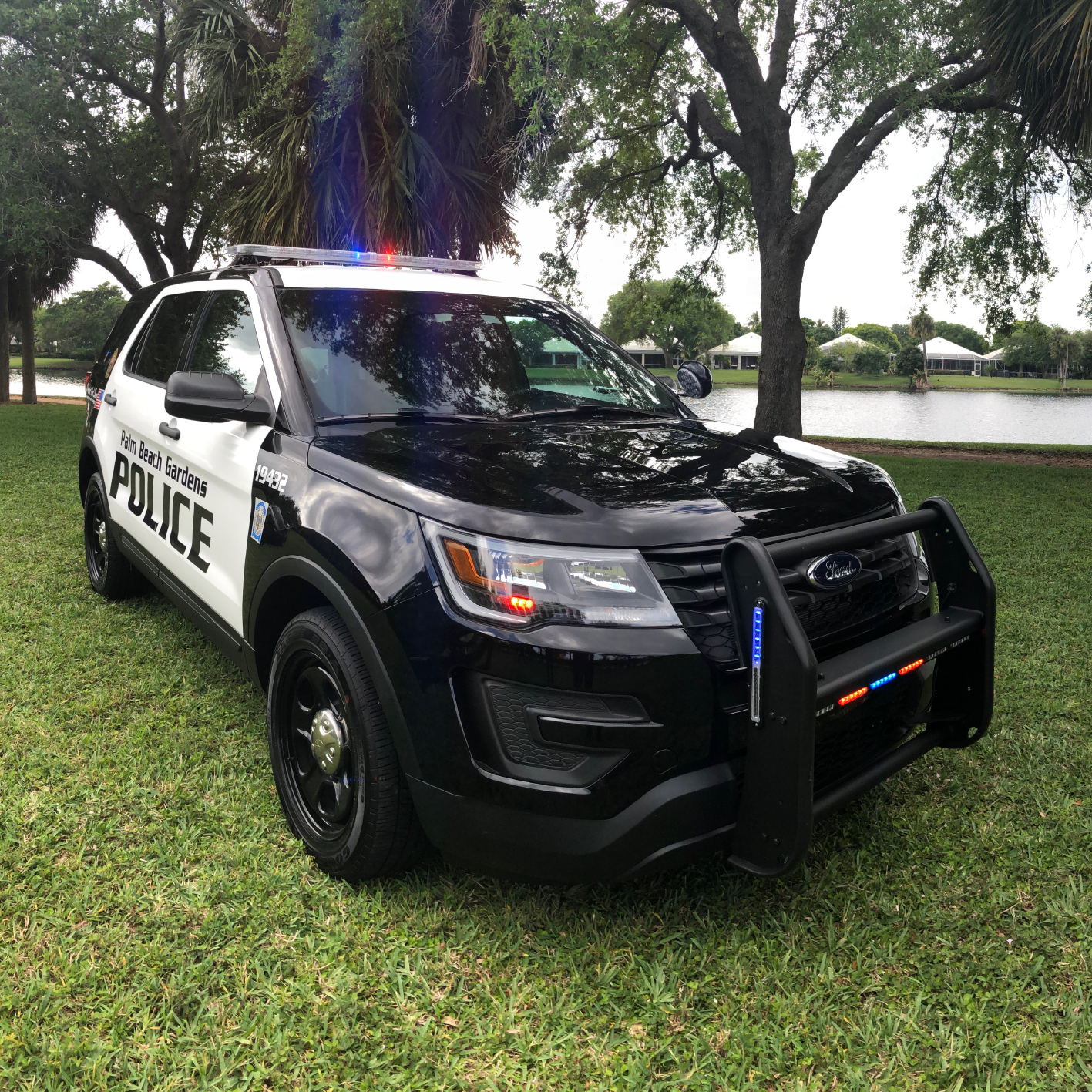 Police SUV style vehicles