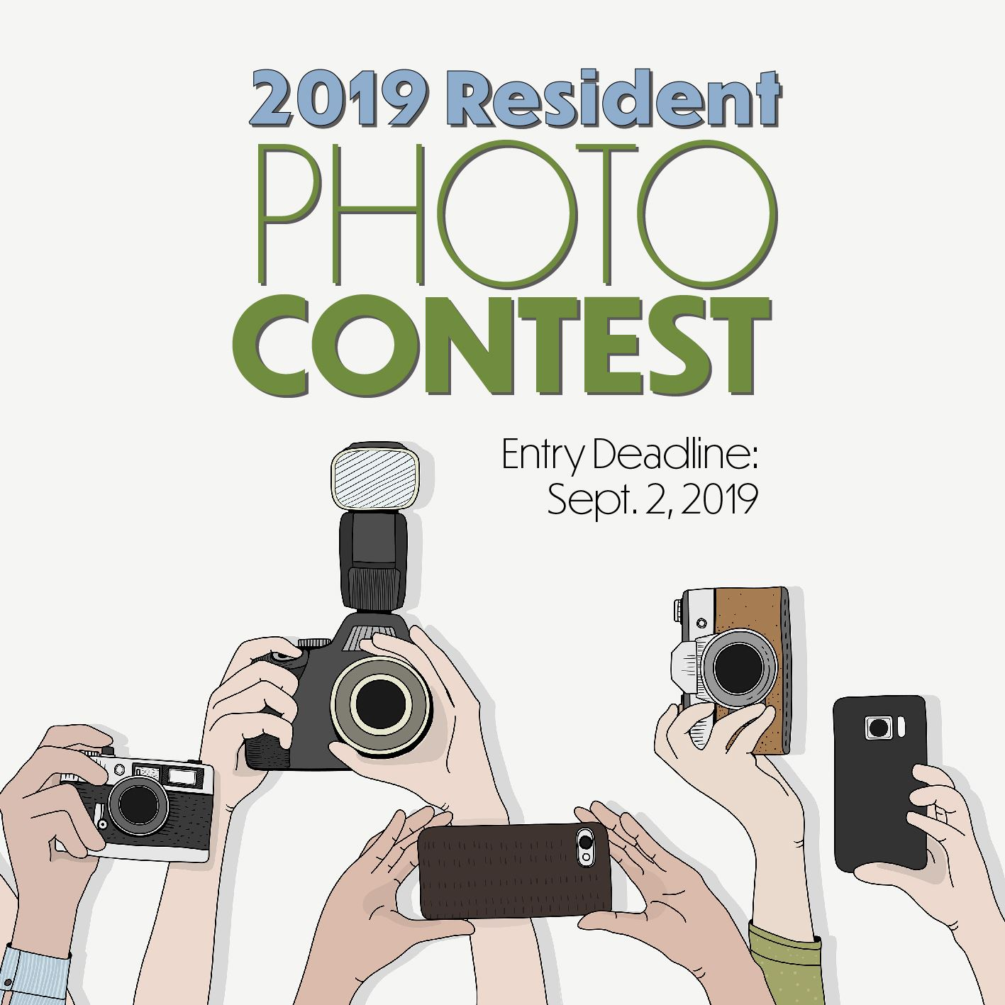 2019 Resident Photo Contest. Entry deadline is September 2, 2019.