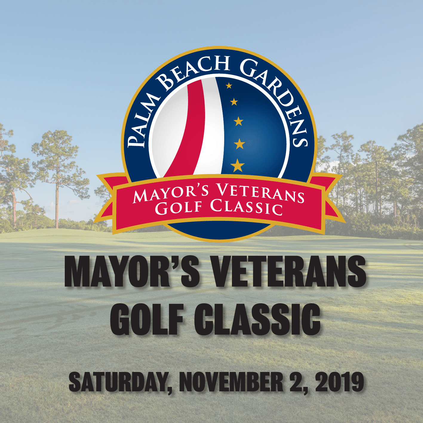 2019 Mayor's Veterans Golf Tournament, November 2, 2019.