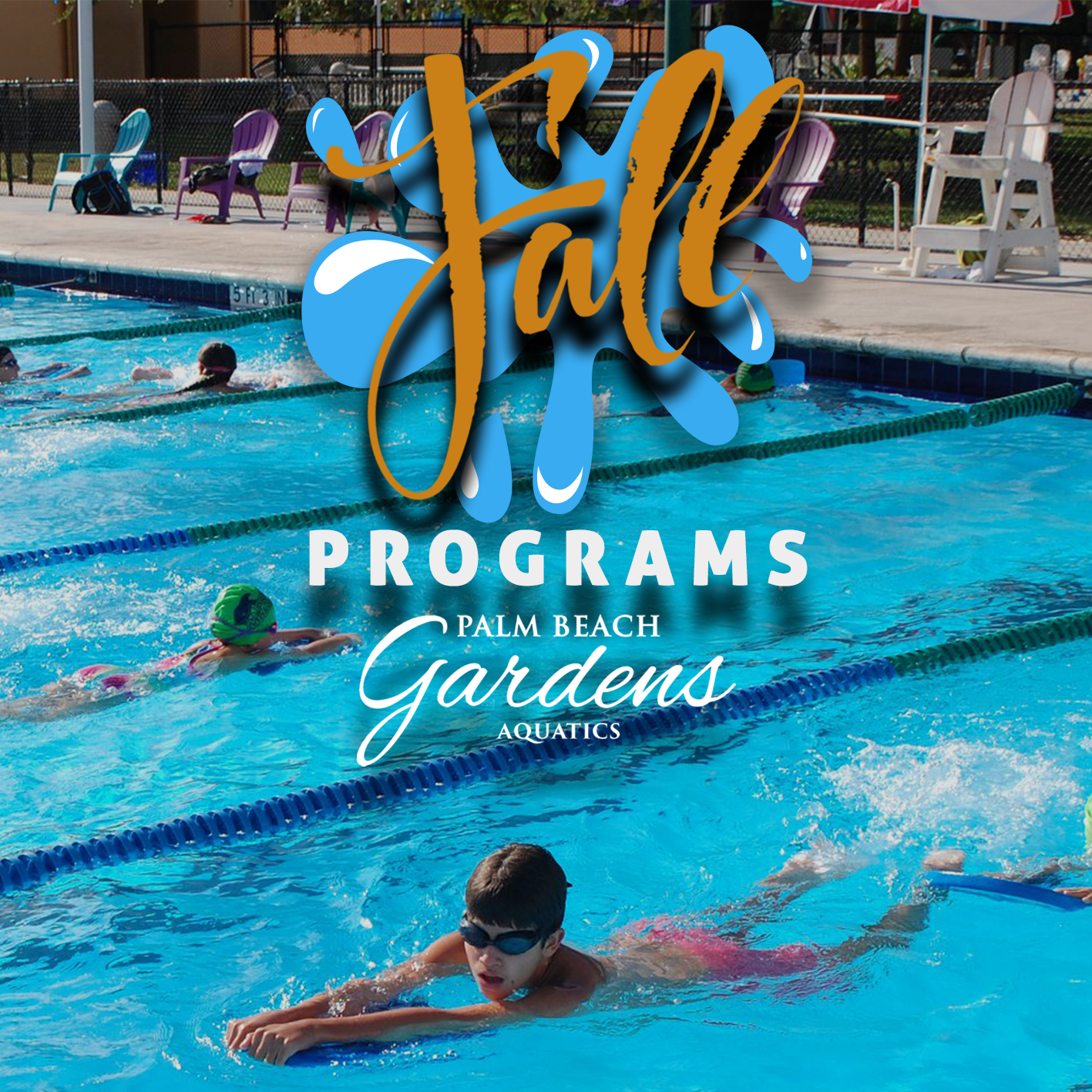 Fall Programs for Palm Beach Gardens Aquatics