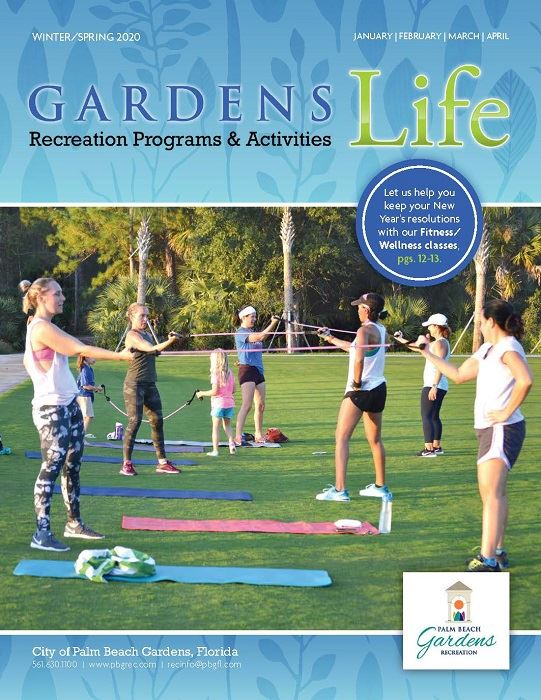 Winter/Spring 2020, January, February, March, April, Gardens Life Recreation Programs & Activities,