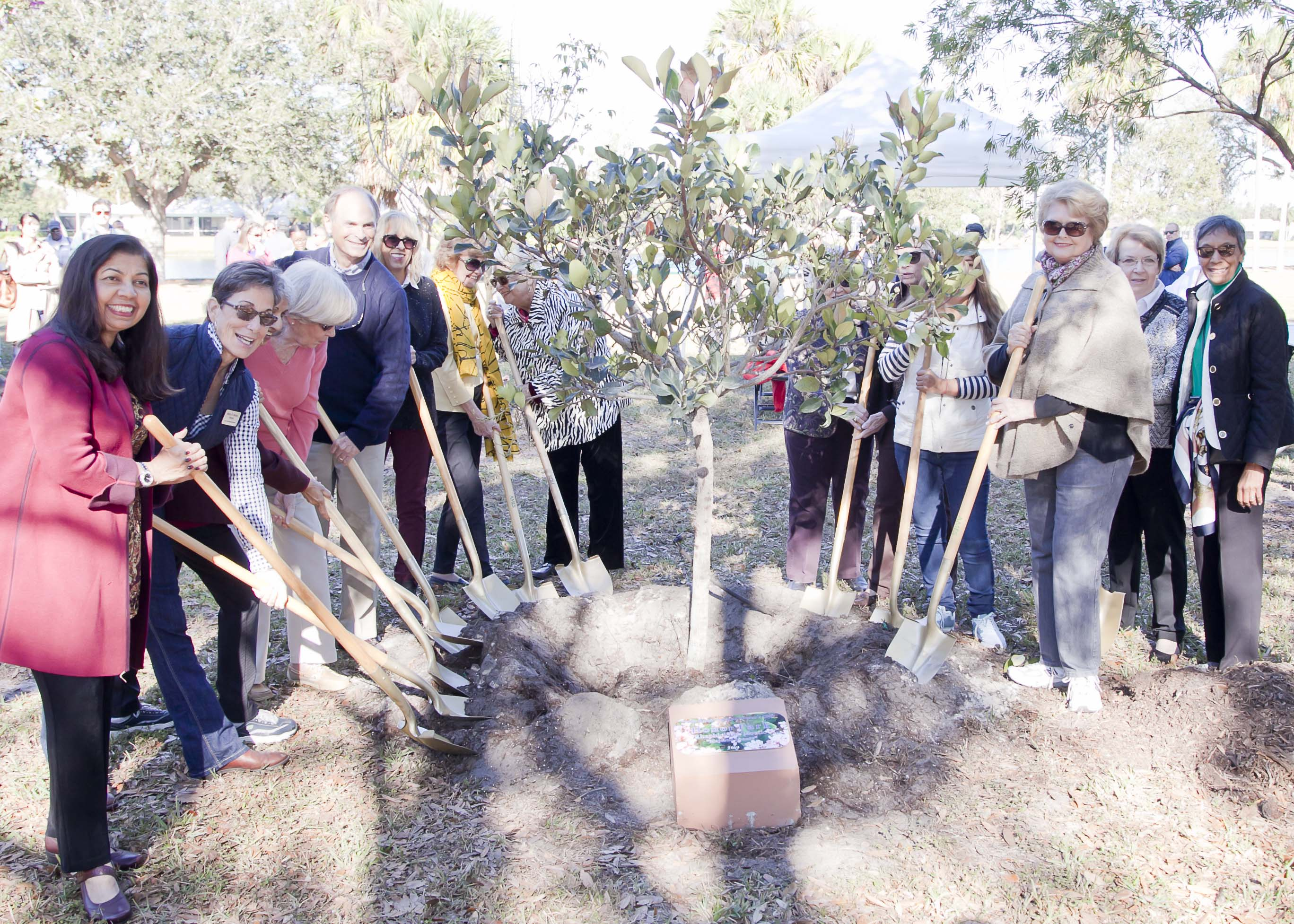 Arbor Day 2019 PBG Woman's Club