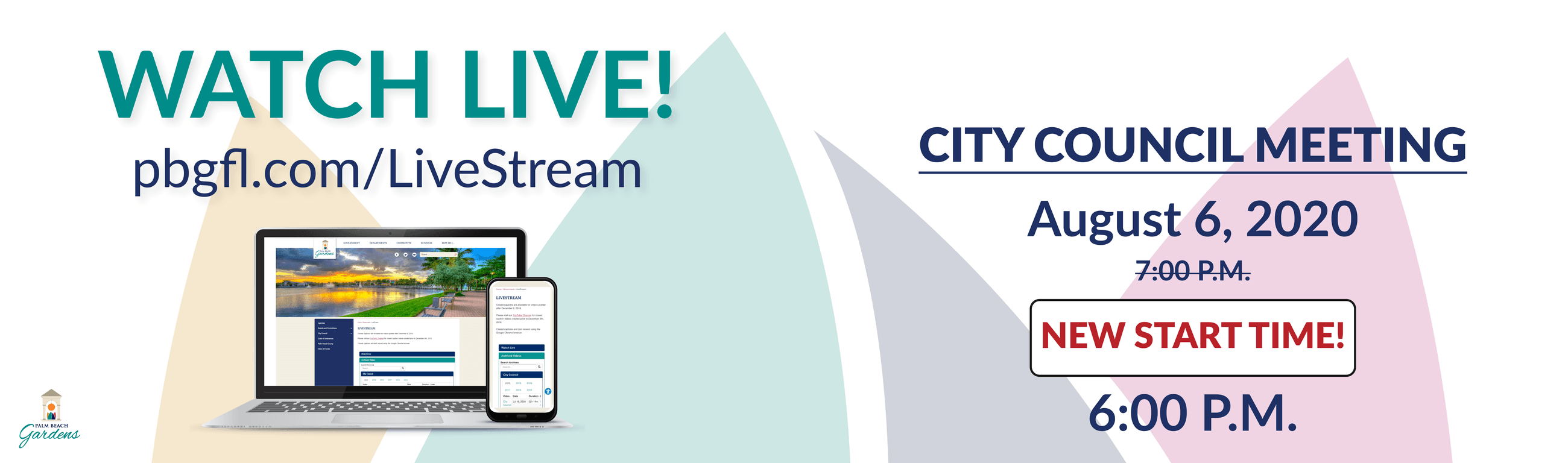 Watch City Council Meeting Live