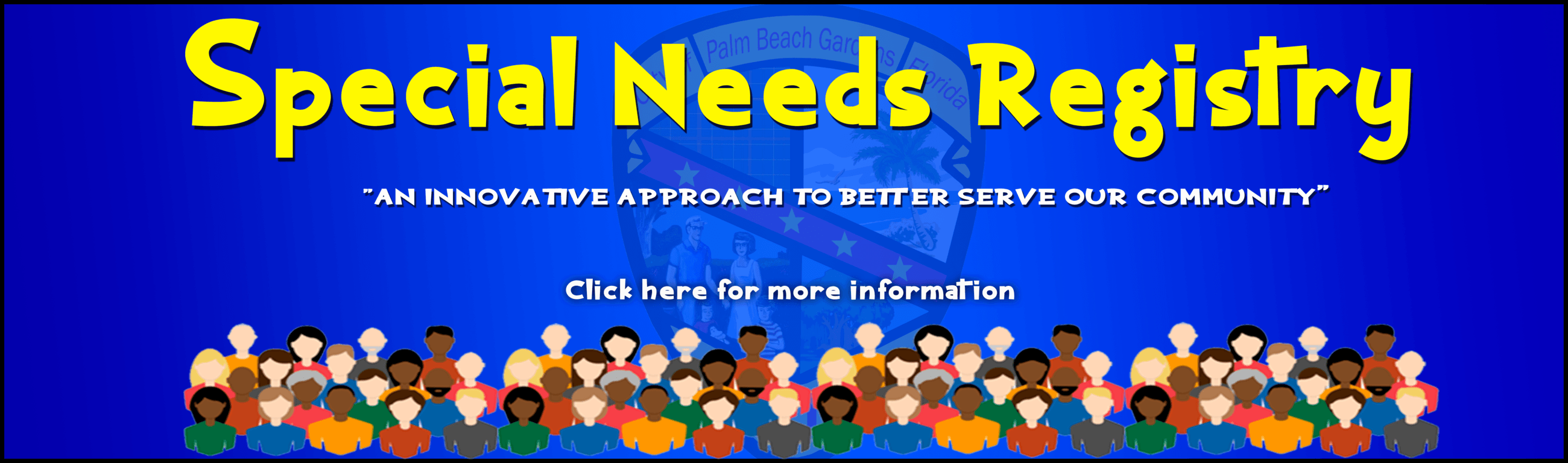Special Needs Registry. Image is link.