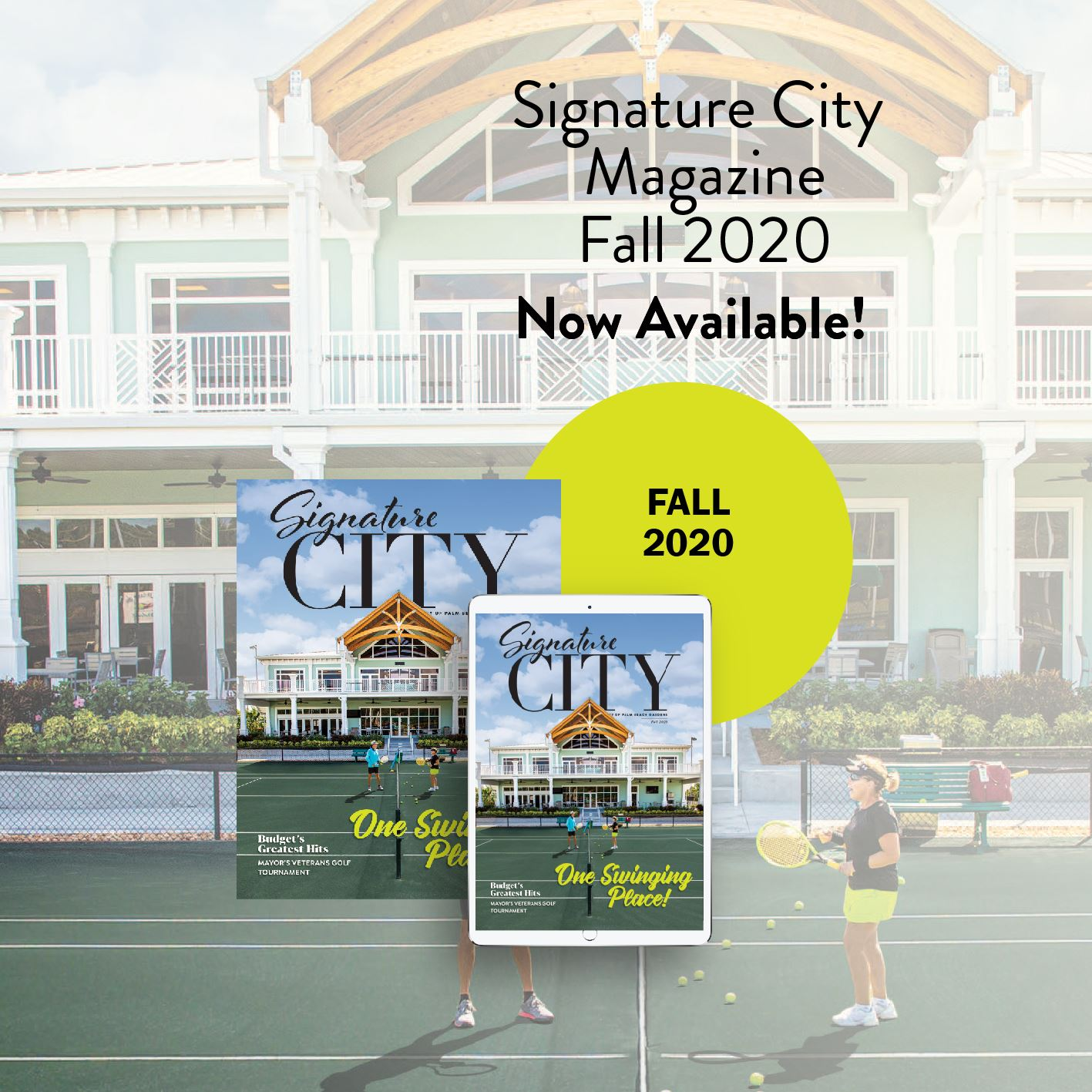 Signature City magazine fall 2020 issue available.