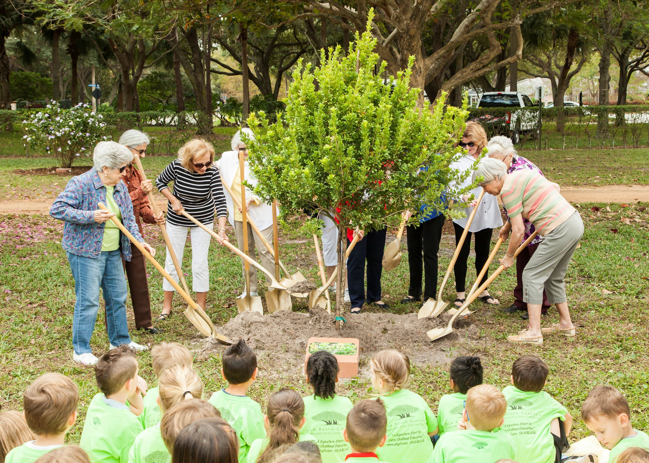 Arbor Day 2020 - PBG Women's Club