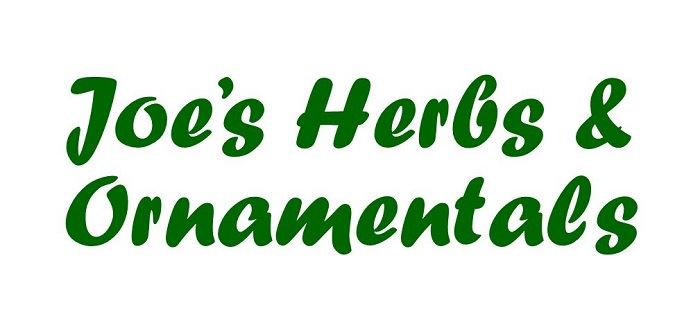 Joe's Herbs and Ornamentals logo
